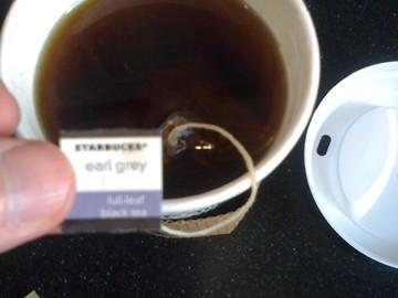 Starbucks Earl Grey