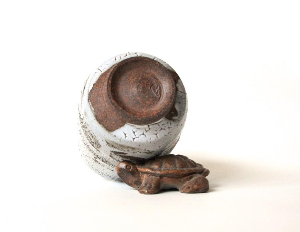 Karatsu-Keramik mit feinem Ton