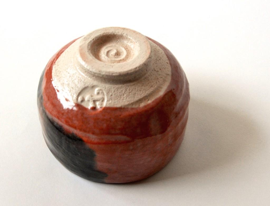 Raku-Keramik mit sehr feinem Ton