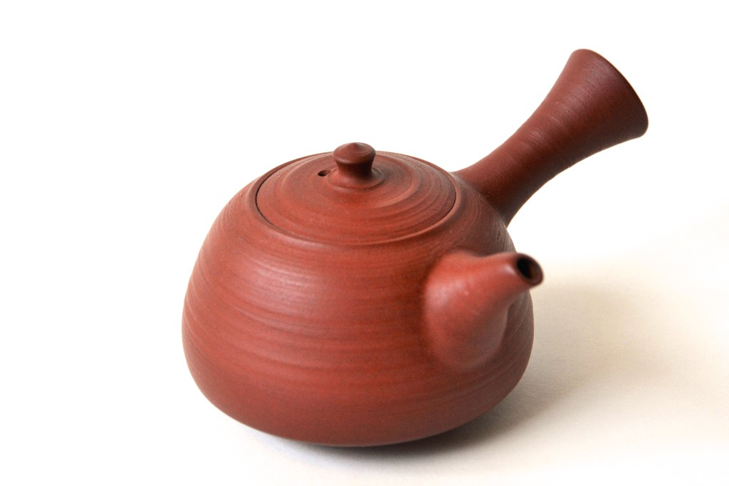 Rote Mumyôi-Kyûsu von Shimizu Ken (Oxidationsbrand)