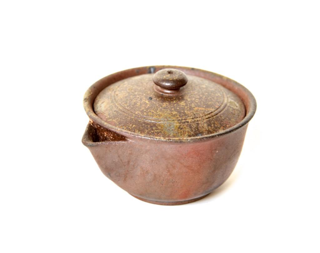Bizen-Keramik Hôhin mit goma-Effekt