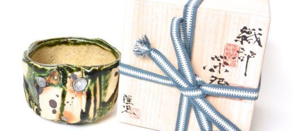Oribe-Keramik von Ryûji Hodaka