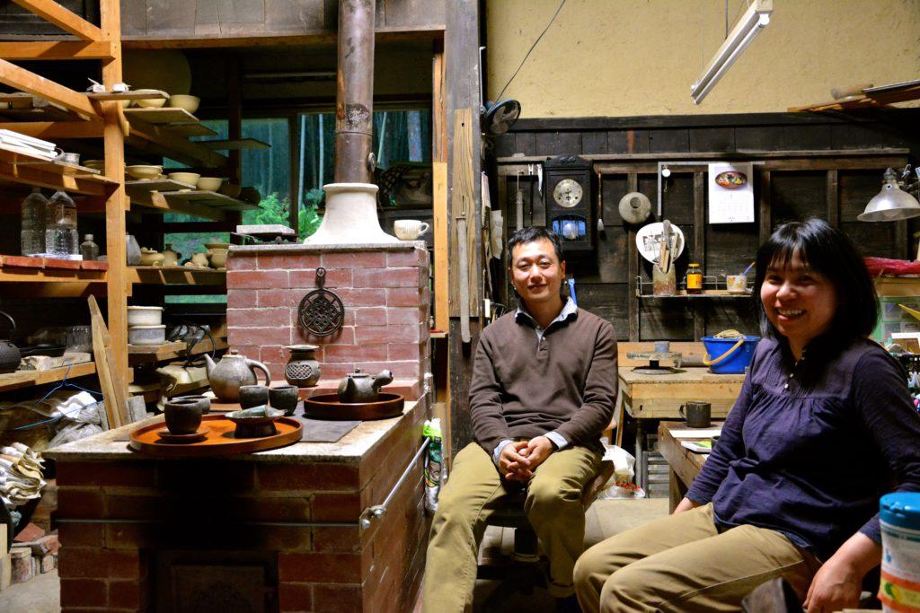 Sanae (rechts) & Nobuyasu (links) Kondô