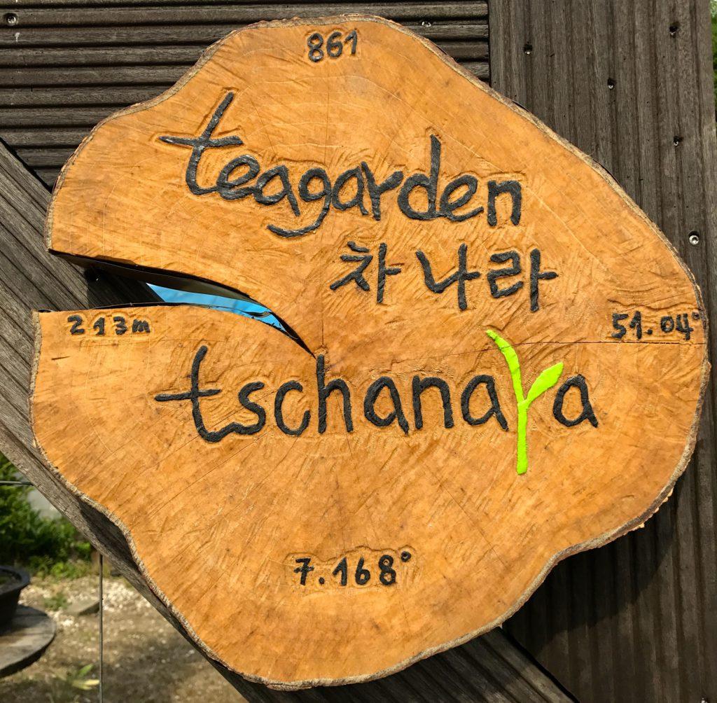 Deutschlands erster Teegarten: Tschanara