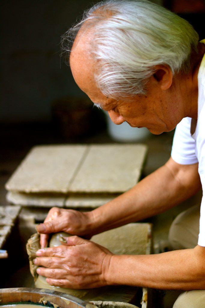 Zu Besuch bei Keramikmeister Hokujô