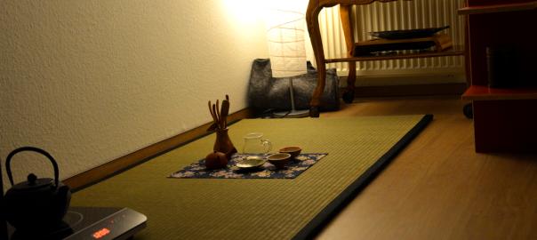 Der Traum vom eigenen Teezimmer...